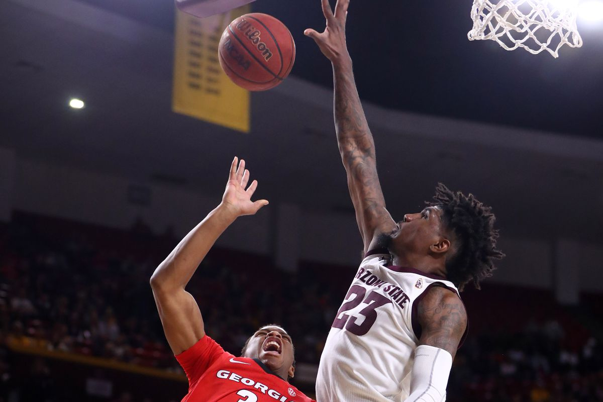 NCAA Basketball: Georgia at Arizona State