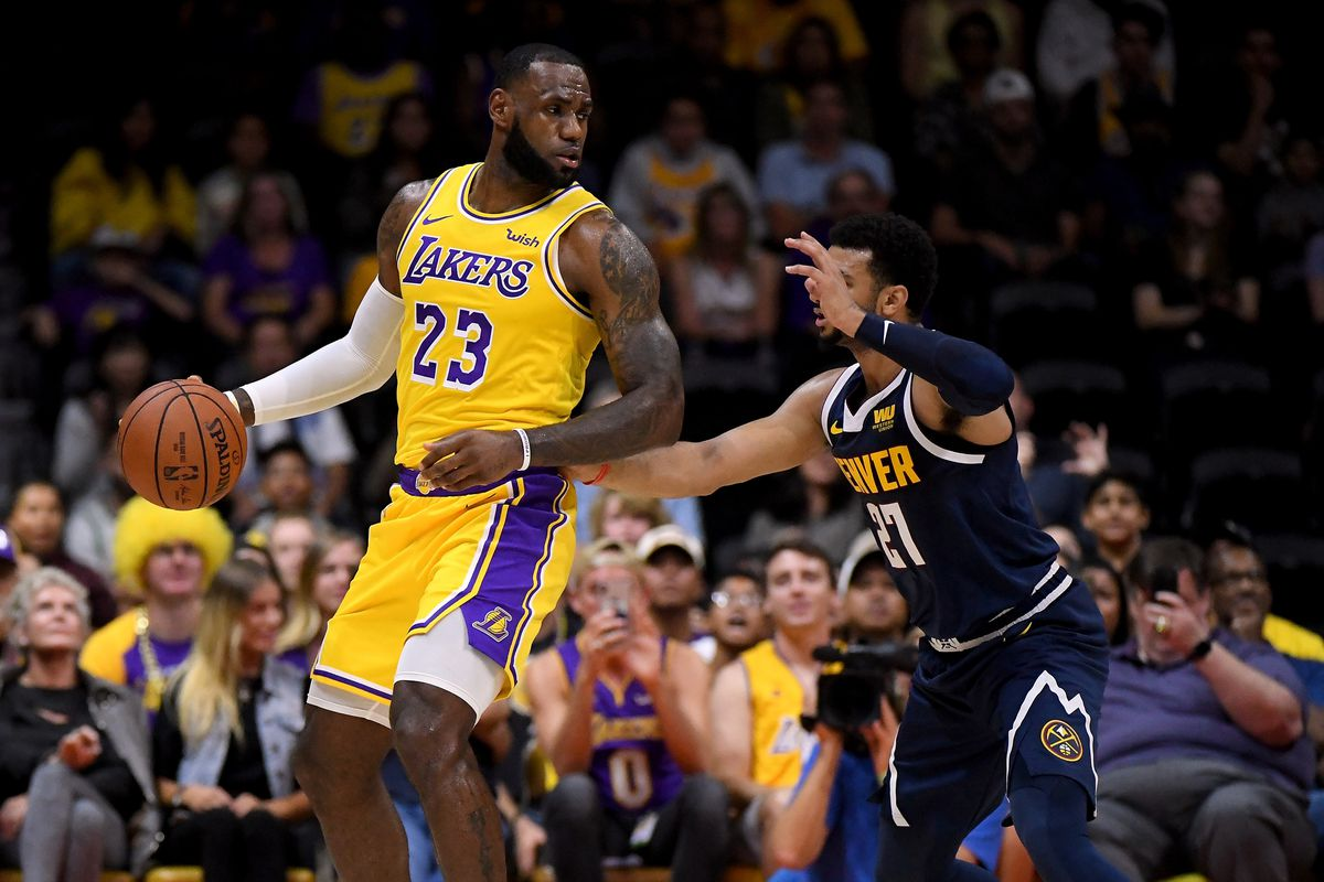 Lakers vs. Nuggets Final Score: Hot shooting Nuggets spoil LeBron James'  Lakers debut 124-107 - Silver Screen and Roll