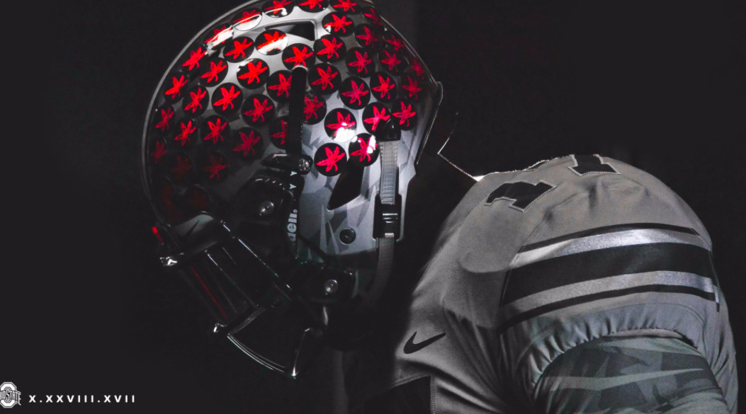 Penn State vs. Ohio State  Buckeyes wearing gray uniforms d62a0ffbe