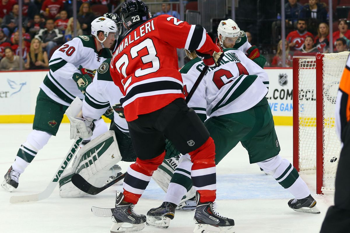 Cammalleri slams home a rebound, which is exactly the type of thing the Devils need.
