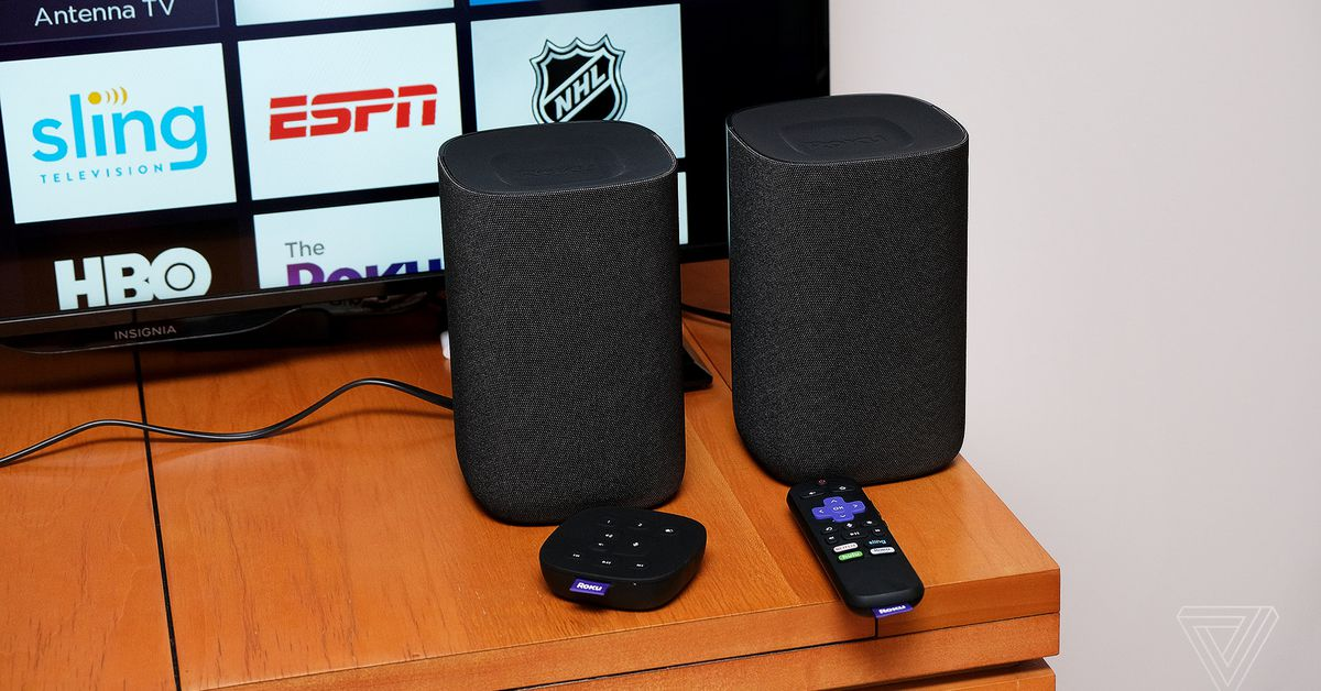 Roku TV wireless speakers are $50 off