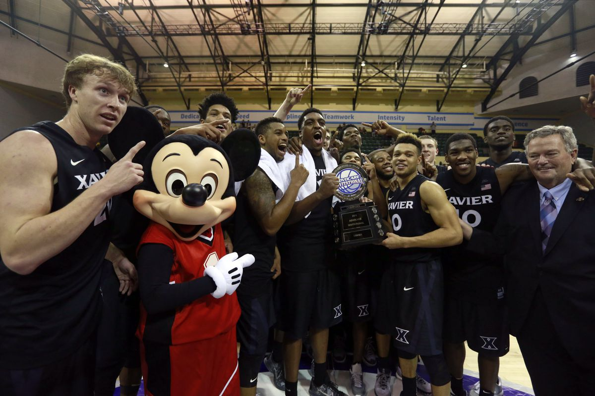 Xavier is off to a 7-0 start and a red hot offense. They'll prove to be no - Mickey Mouse - for the Tops on Saturday evening.