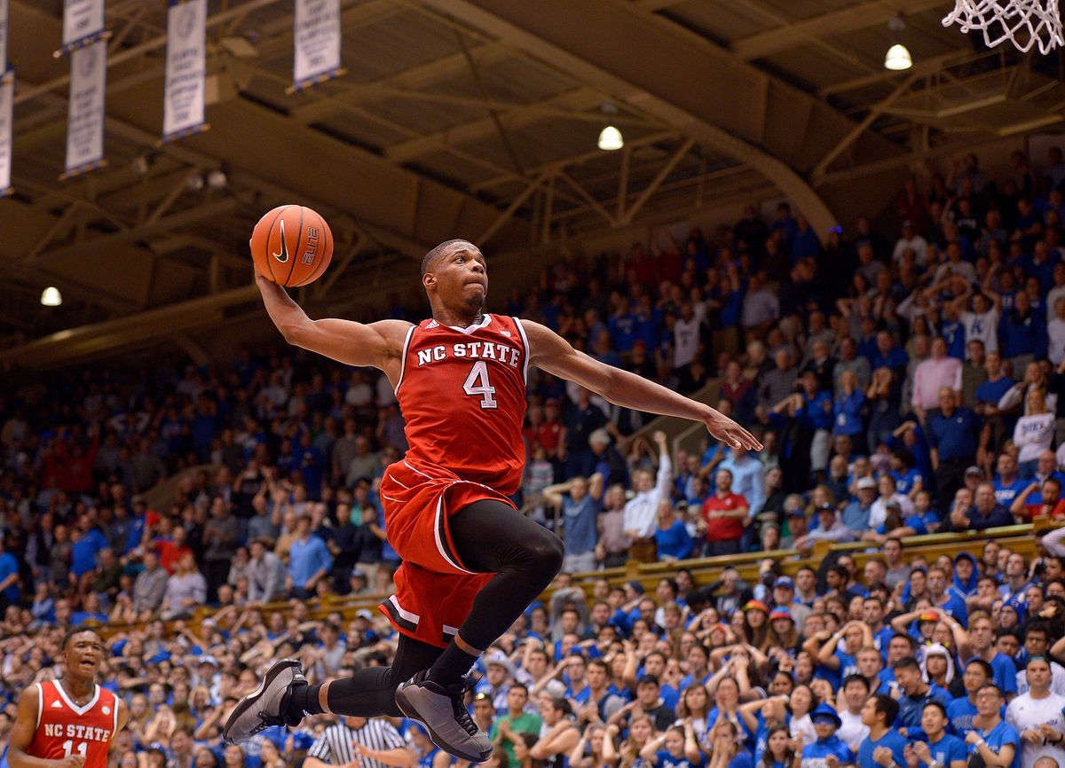 The Orlando Magic select Dennis Smith Jr. from N.C. State with the No. 6 overall pick in the Blazer's Edge 2017 NBA Mock Draft.