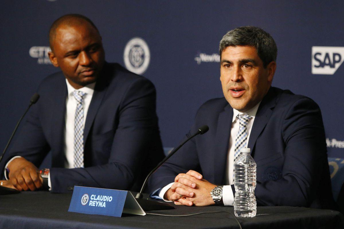 MLS: New York City FC Patrick Vieira-Press Conference