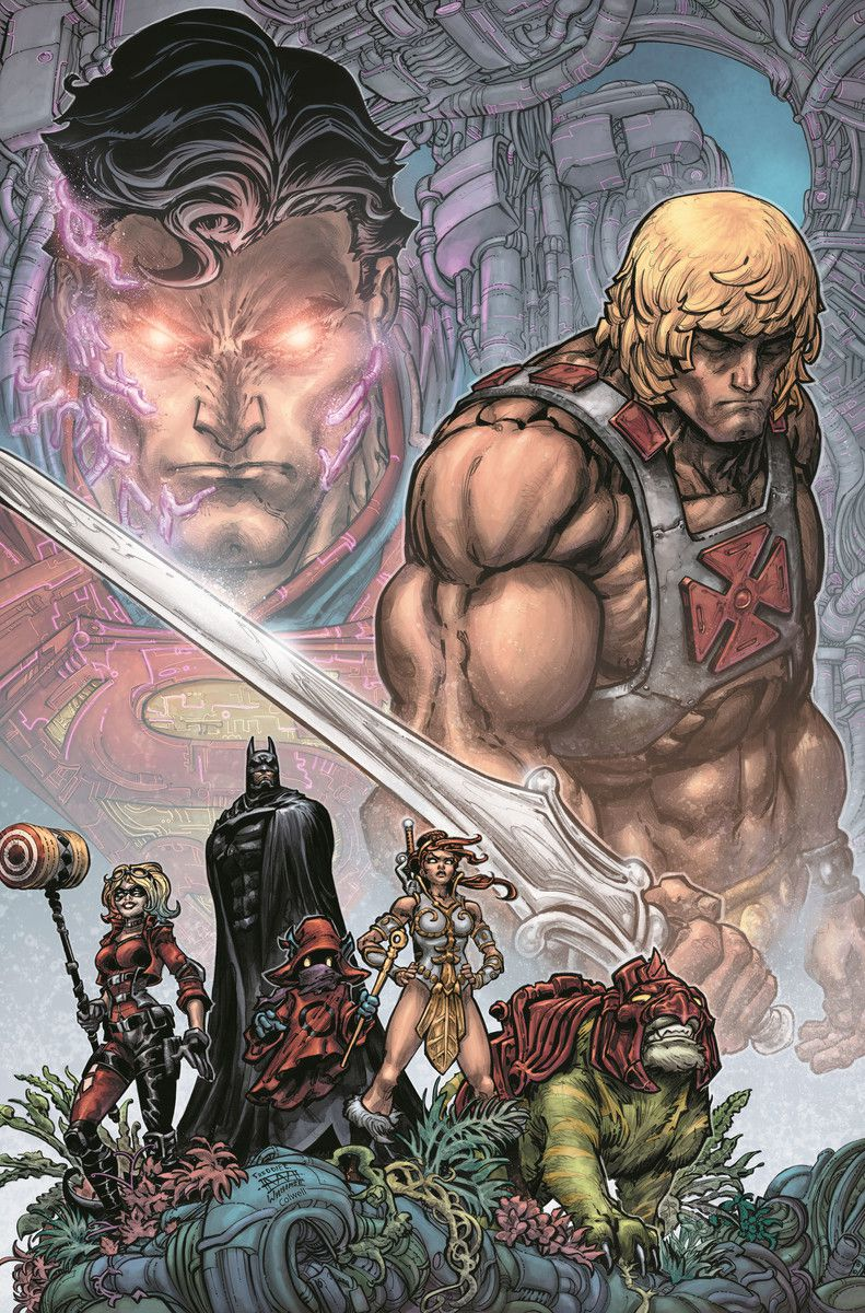 DC的不公正即将与He-Man交叉