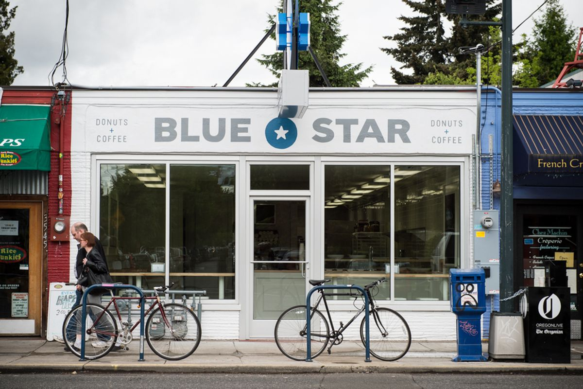 The Hawthorne location of Blue Star Donuts, which will supply the upcoming NW 23rd shop.