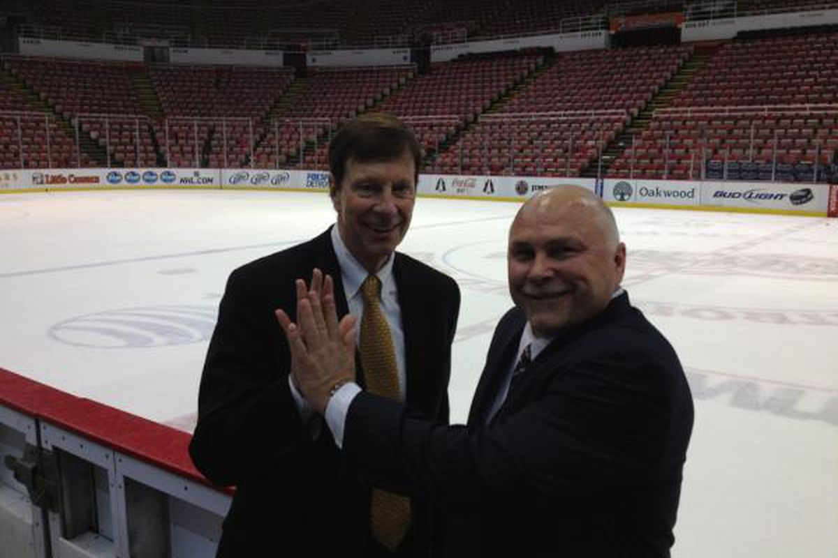 """Whaddya, know? Your hand is bigger than mine!"" via <a href=""https://twitter.com/#!/KWilsonPreds/status/185916117829693440/photo/1"">Kevin Wilson</a>."
