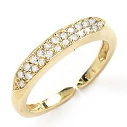 "<b>Loren Stewart</b> Mann ring in 14kt yellow or rose gold with 22 diamonds, $1595 at <a href=""http://www.lorenstewart.com/catalog.php?item=252""target=""_blank"">Loren Stewart</a>."