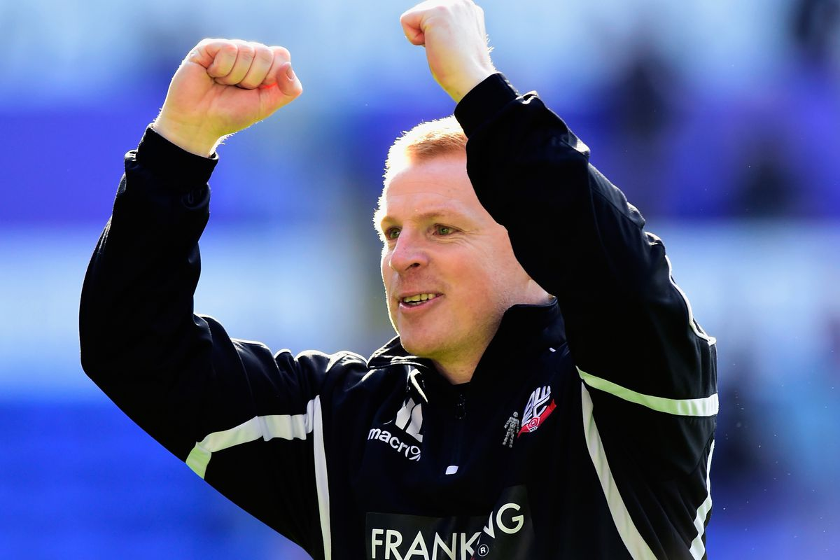 Neil Lennon is looking forward to a summer of rebuilding at Wanderers