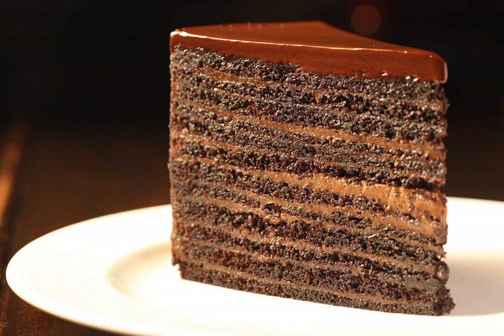 "<span data-author=""-1"">24-layer chocolate cake at Strip House </span>"