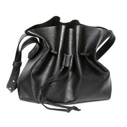"""Line & Label black bucket bag, <a href=""""http://www.cloakanddaggernyc.com/index.php?main_page=product_info&cPath=3_19&products_id=1682&zenid=476ch8der9eovgtj5t9lemtd24"""">$148</a> at Cloak and Dagger"""