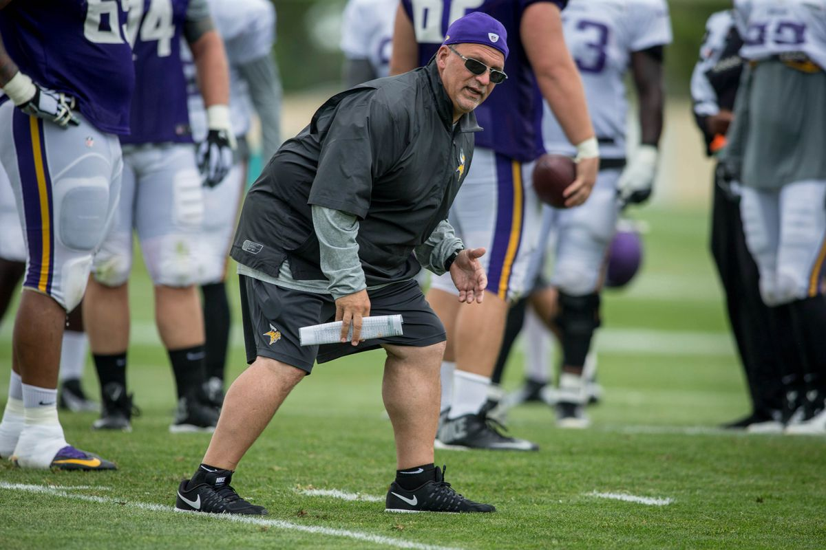 Minnesota Vikings Offensive Line Coach Tony Sparano Passes Away Daily Norseman
