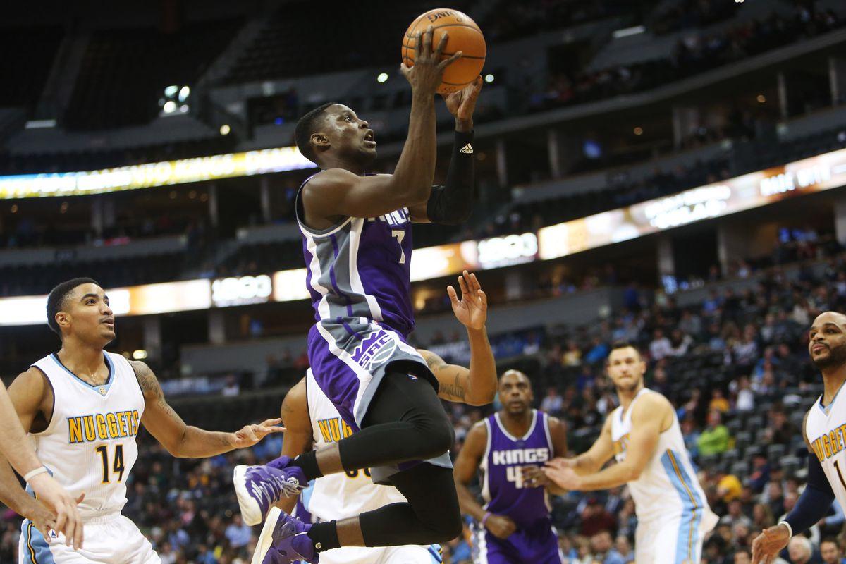 NBA: Sacramento Kings at Denver Nuggets