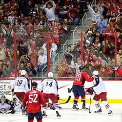 Laich Cheers Brouwer Goal
