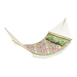 'Nosie Posey' hammock, $150; stand sold separately, $150