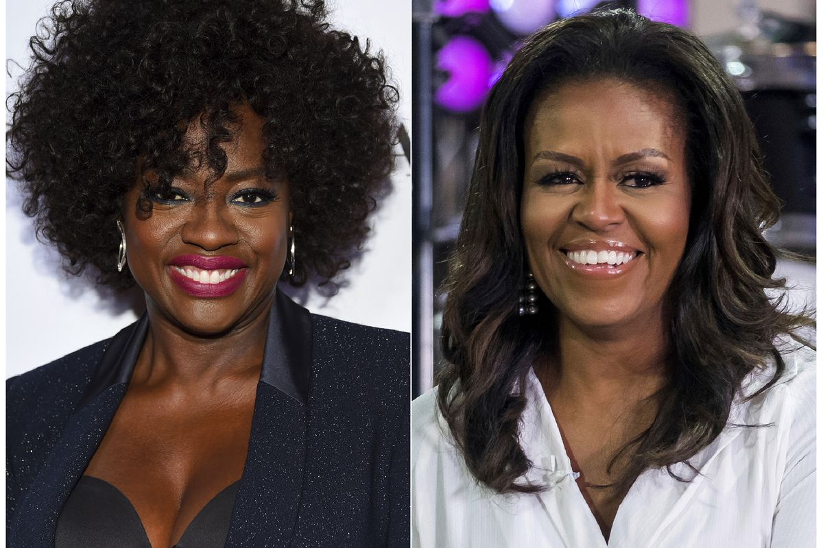 Viola Davis is set to portray Michelle Obama in a Showtime series about America's first ladies. Davis also is an executive producer on the project, which is still in development.