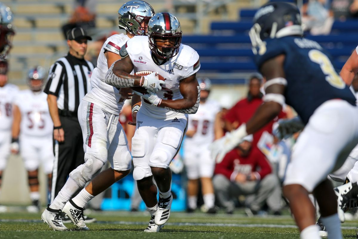 COLLEGE FOOTBALL: SEP 21 Troy at Akron
