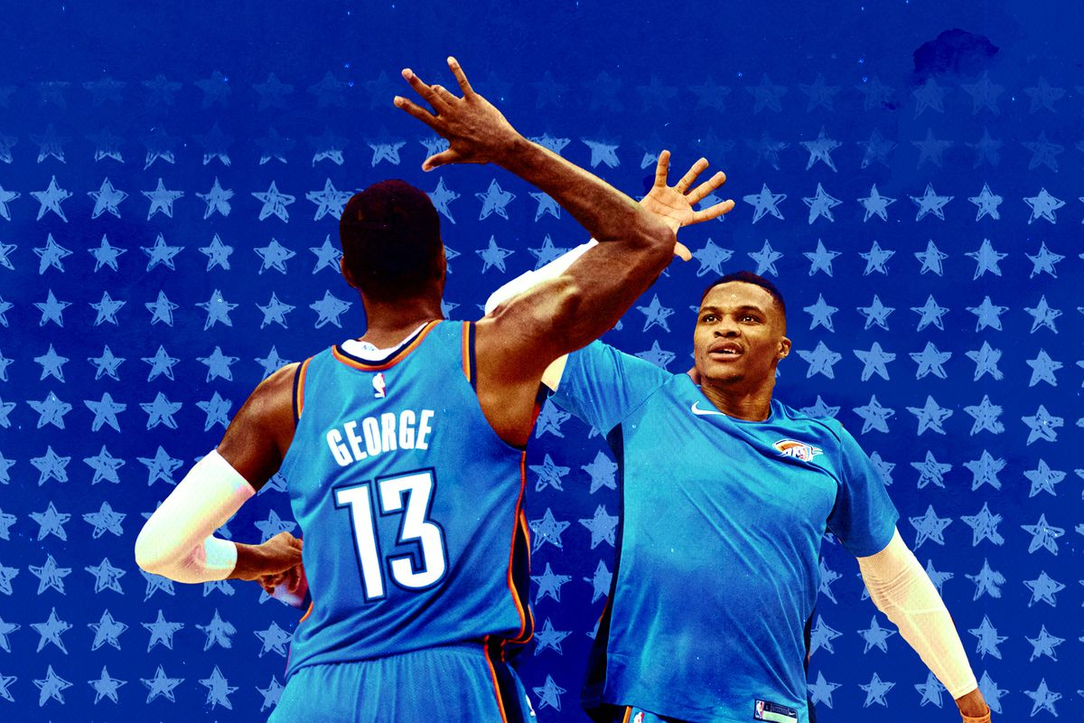 buy online cca06 93078 Russell Westbrook taking a step back makes the Oklahoma City ...