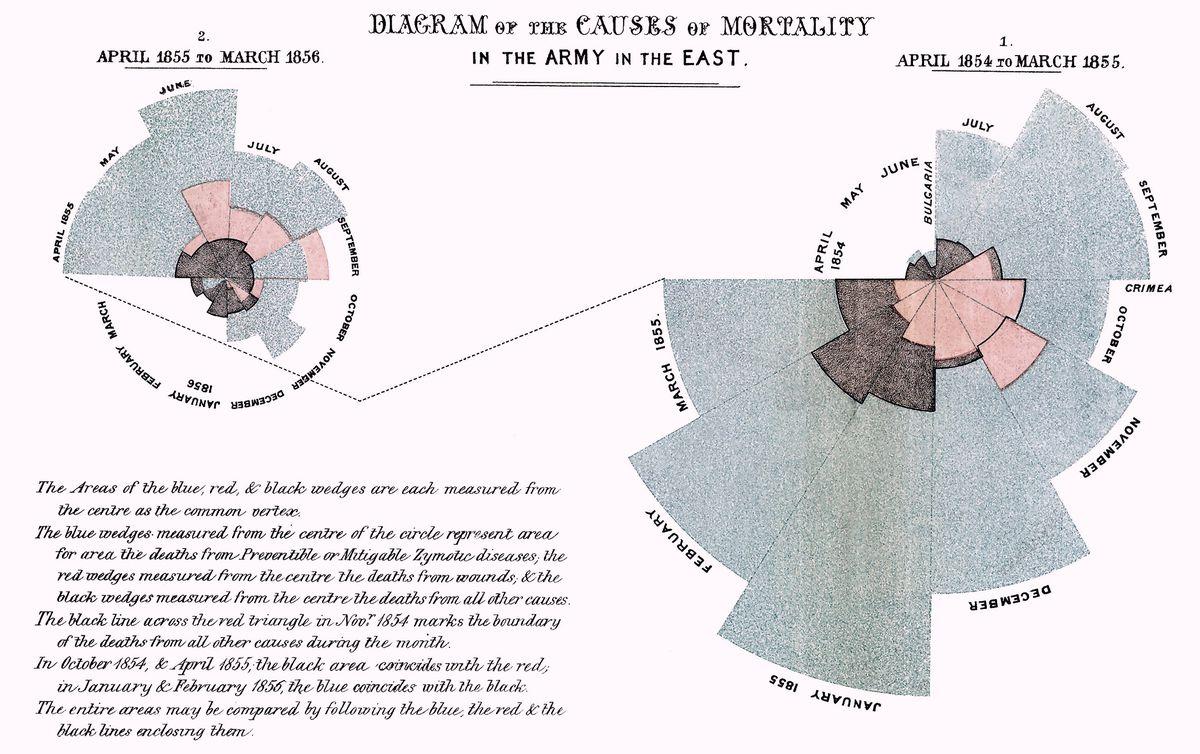 Florence Nightingale's chart