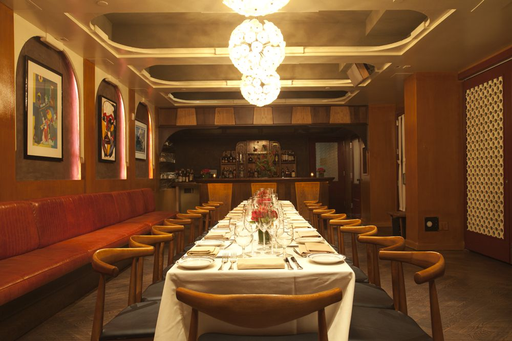 22 Top Private Dining Rooms In Nyc Restaurants Eater Ny