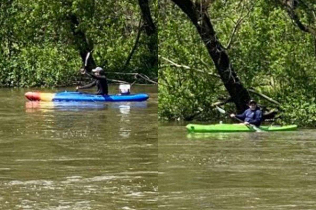 A pair of kayakers was located safely after being reported missing May 20, 2020, in the Des Plaines River.
