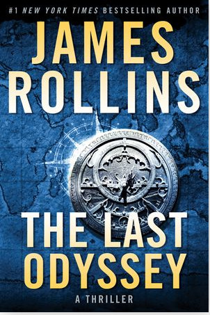 """Click for an excerpt from James Rollins' """"The Last Odyssey."""""""