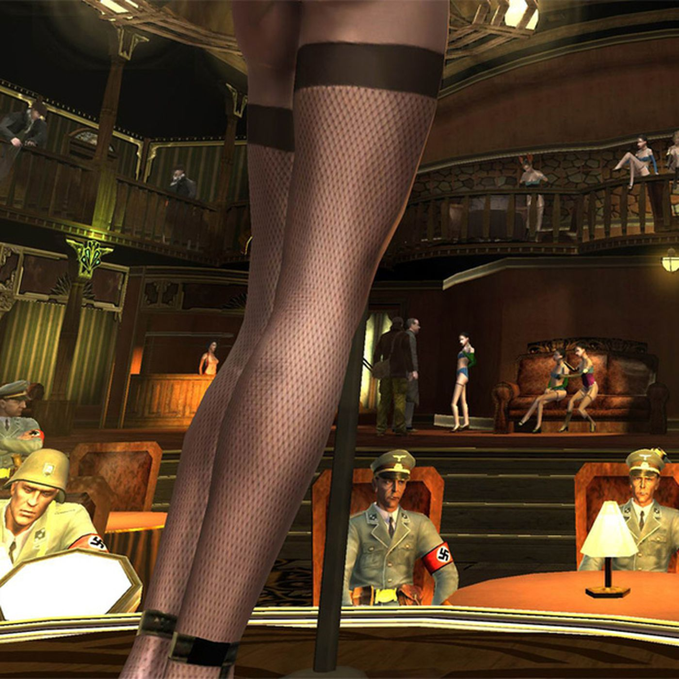 striper club games