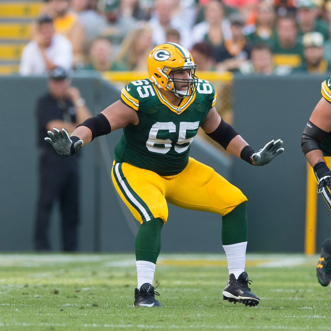 purchase cheap a8f7c 2a677 Packers place OL Lane Taylor on injured reserve, sign Adam ...
