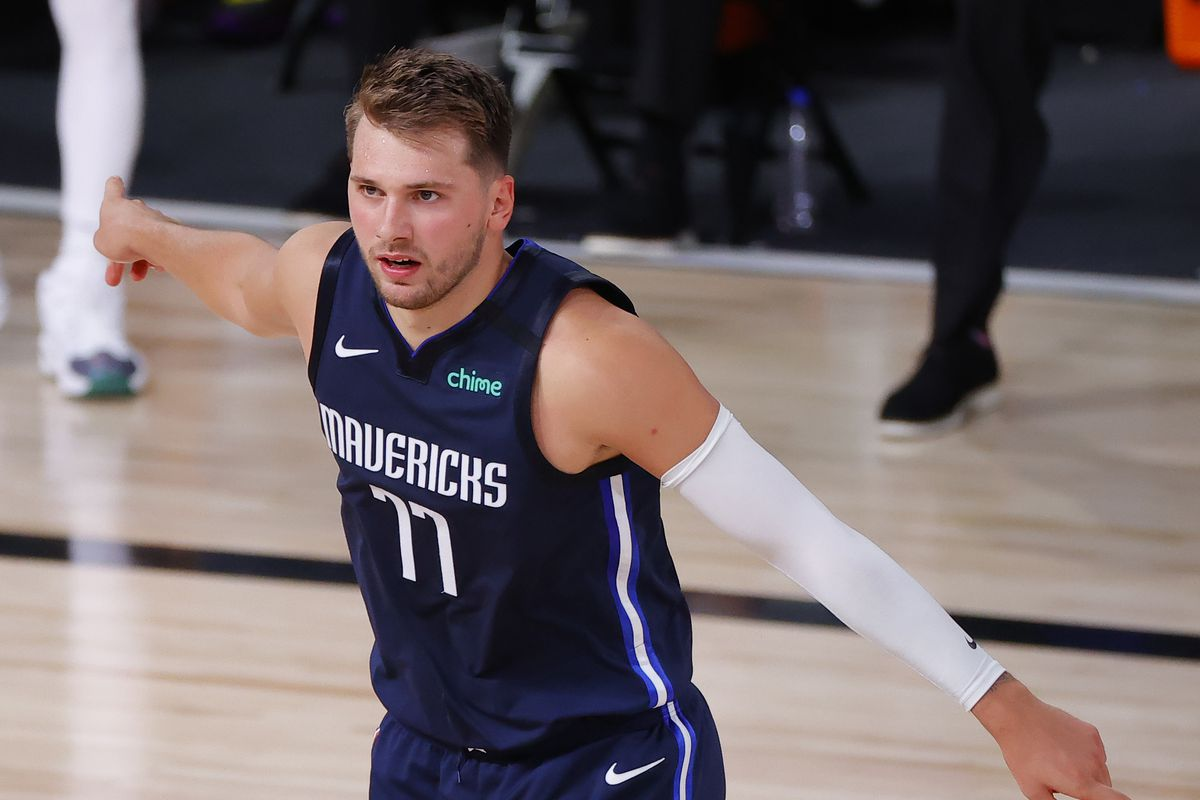Luka Doncic Video Watch Mavericks All Star Hit Buzzer Beater For The Win In Ot Vs Clippers In Game 4 Draftkings Nation