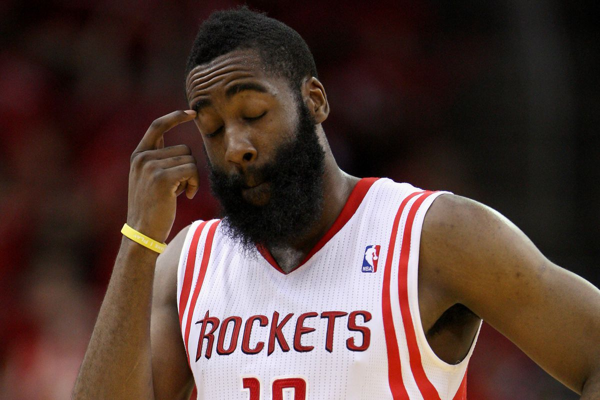James Harden ponders why nothing is ever good enough for Rockets fans.