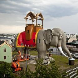 """<a href=""""http://www.lucytheelephant.org/?presets=preset5"""">Lucy The Elephant</a>, named after the co-founder of Margate, is about to celebrate her 133rd birthday. She is a six story high historical landmark, and the perfect place to set up a picnic before"""