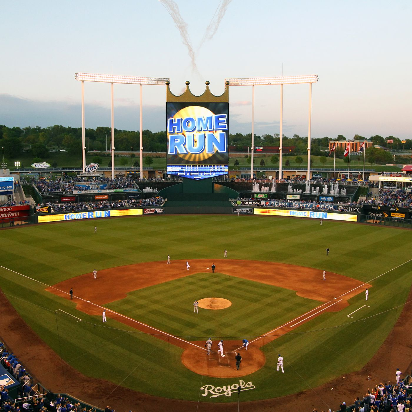Where to Eat at Kauffman Stadium Home of the Kansas City Royals Eater