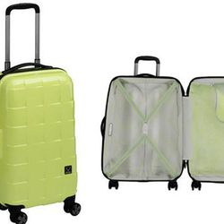 """<b>Antler</b> Camden Down 22"""" Carry On in Lime Green, <a href=""""http://www.luggagesource.com/product.aspx?zpid=3824"""">$170</a> (from $340) at Luggage Source"""