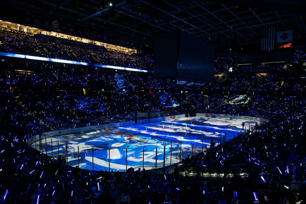 Detroit Red Wings v Tampa Bay Lightning - Game Two