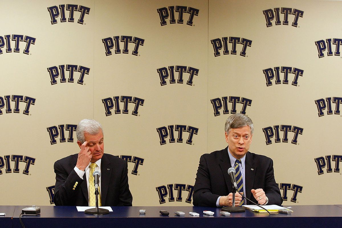 Pitt released the full non-conference schedule today. It's bad.  (Photo by Jared Wickerham/Getty Images)