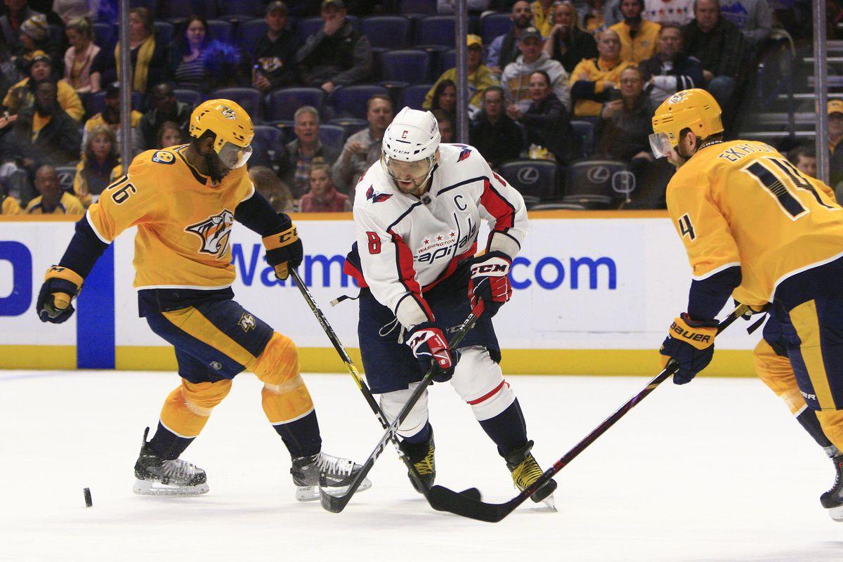 NHL: JAN 15 Capitals at Predators