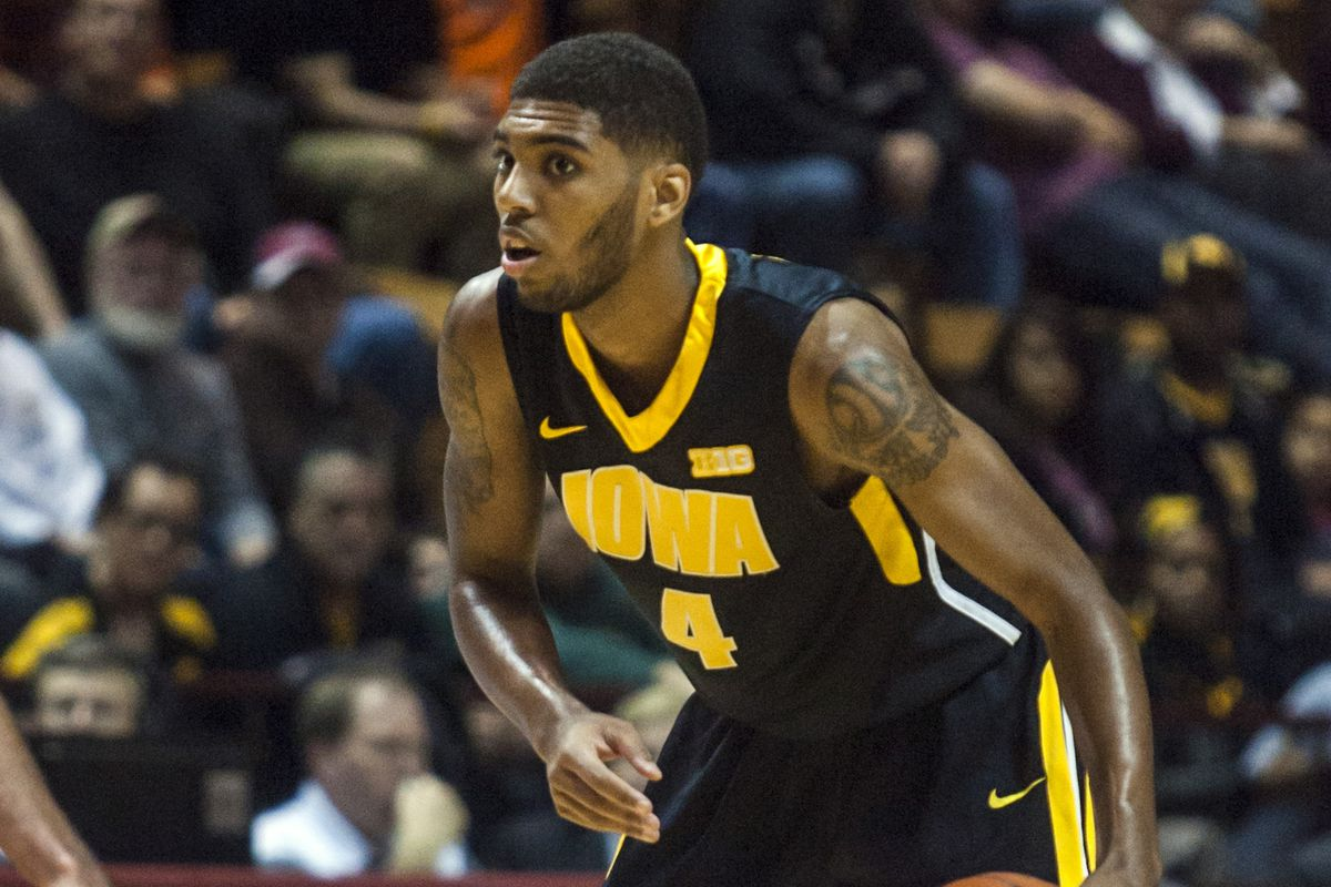Iowa's senior guard has been Roy Devyn Marble-ous this year. Okay, I'll see myself out.