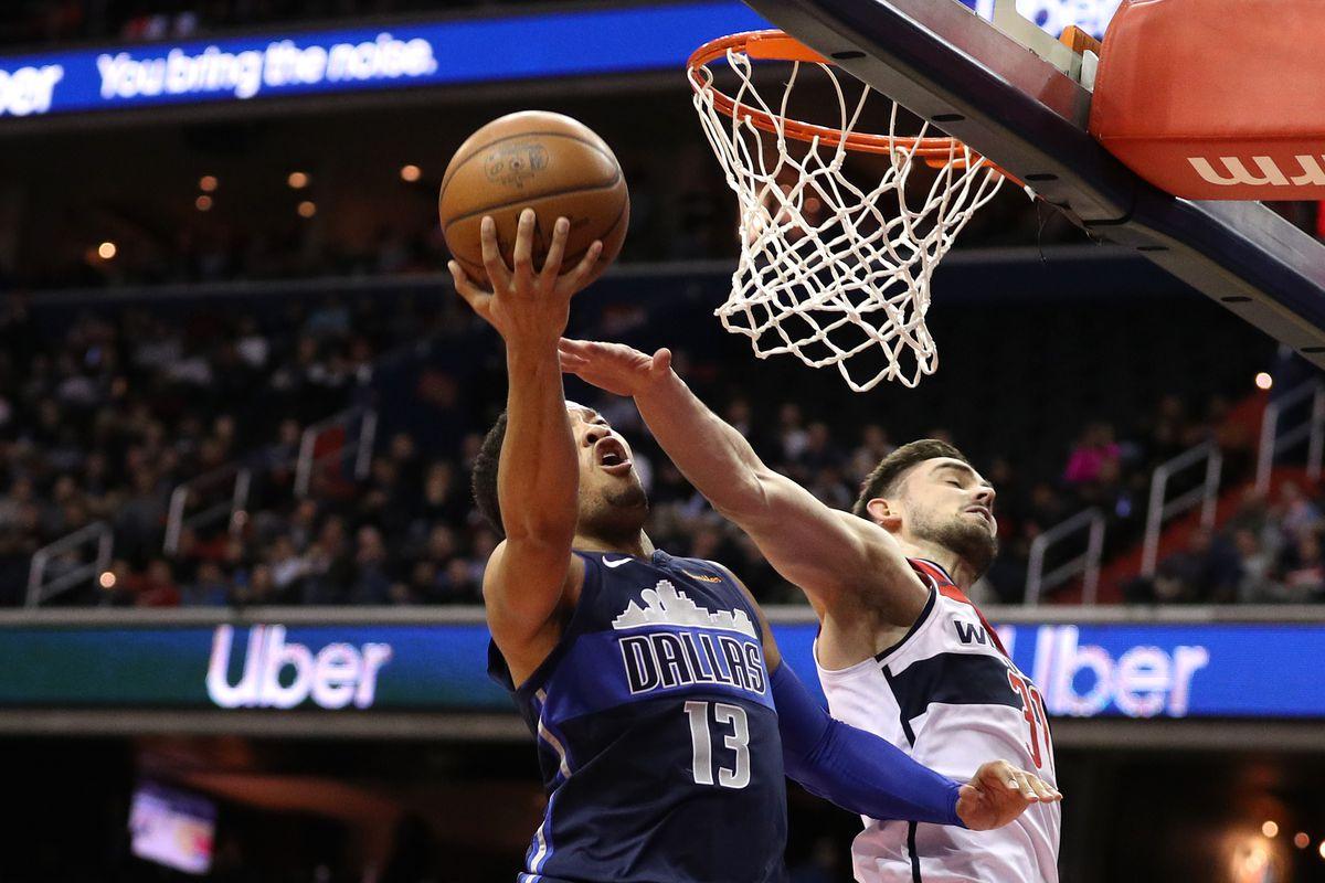 Dallas Mavericks v Washington Wizards