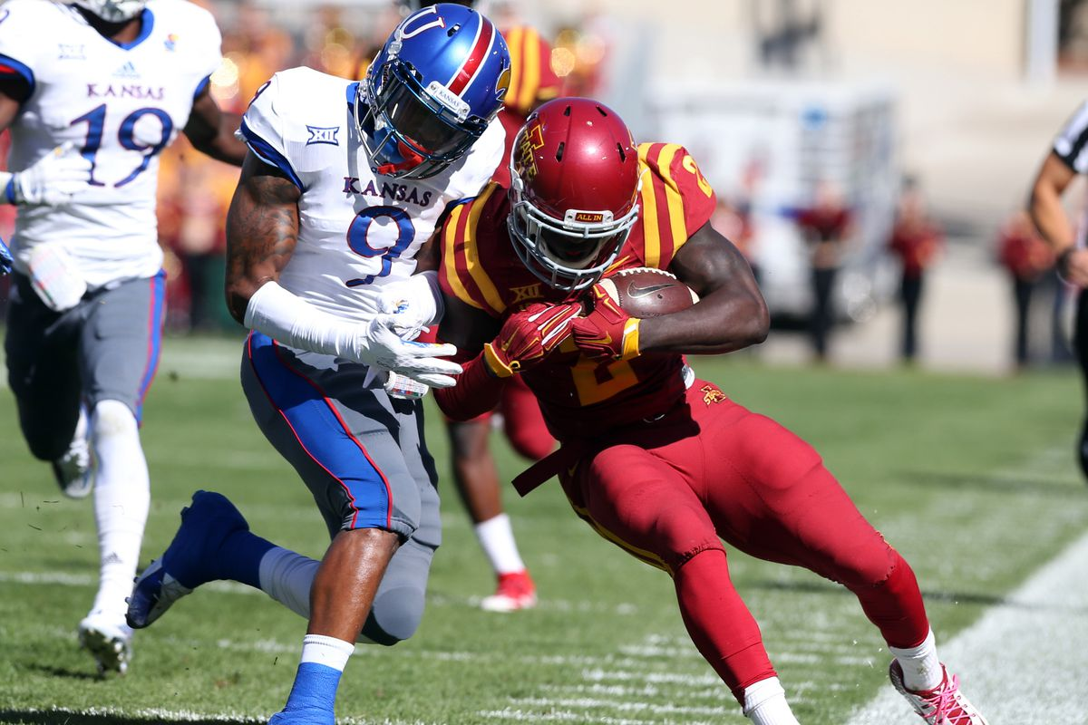 Fish Smithson has been the most active Jayhawk defender in 2015.