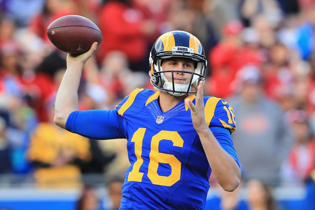 Jared Goff Former No 1 Overall Pick Won His First Nfl