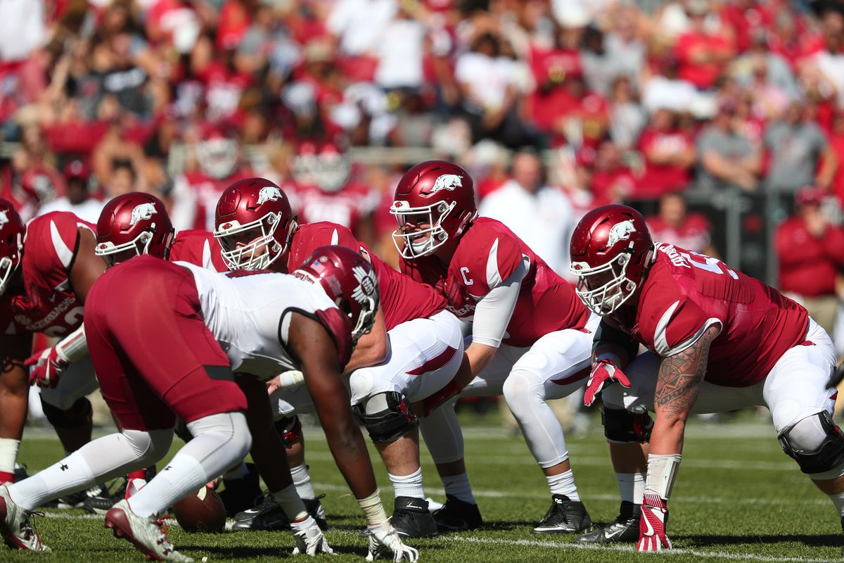 COLLEGE FOOTBALL: SEP 30 New Mexico State at Arkansas