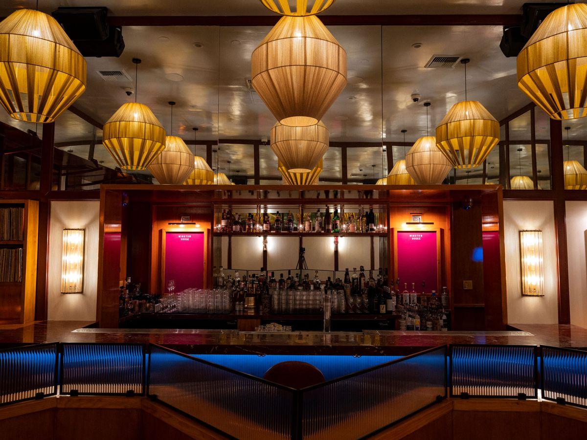 Bar at Winston House Venice.