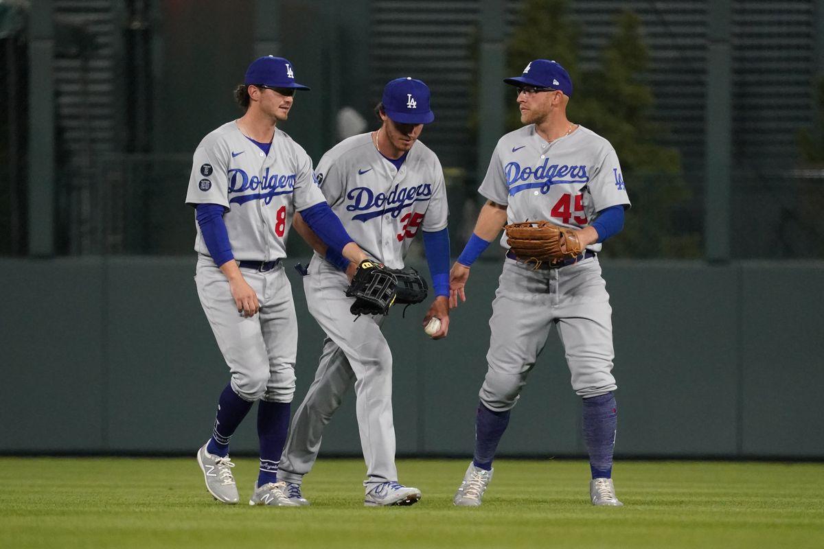 MLB: Los Angeles Dodgers at Colorado Rockies