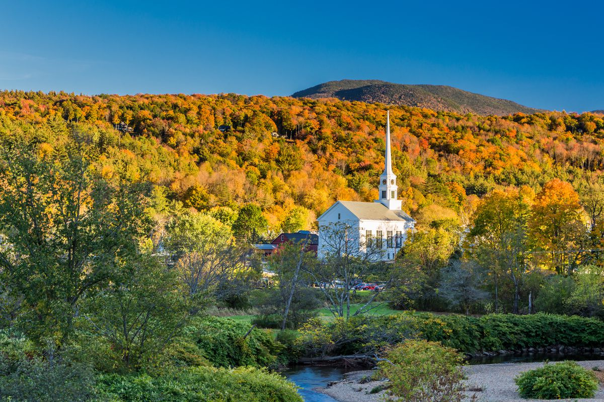 Typically known for its fall foliage and winter sports, Stowe is one of the best Labor Day destinations because you'll beat the crowds and enjoy ideal weather. Whether it's for a hike to a swimming hole or a mountain biking and brewery tour, you're going