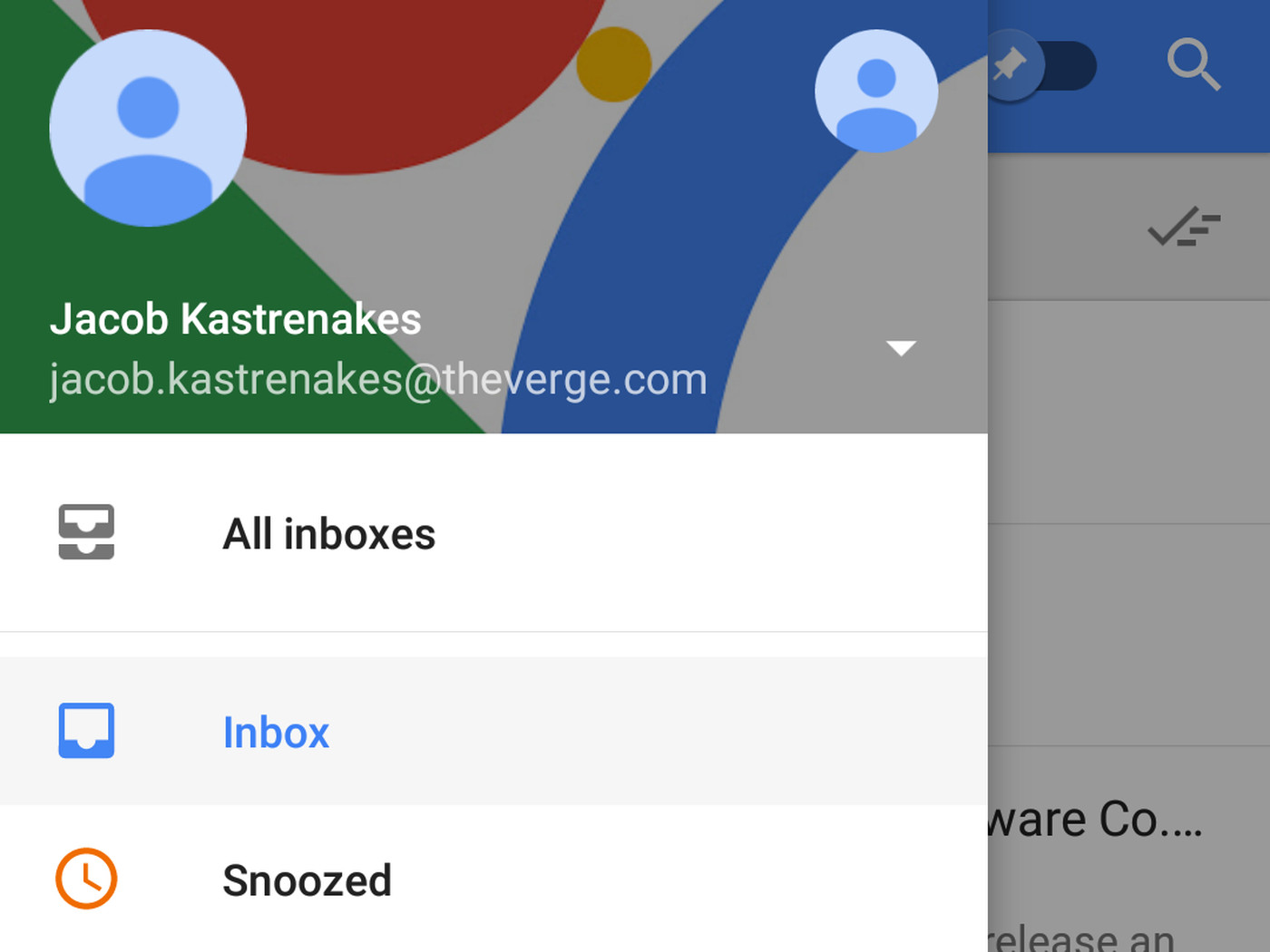 Googles Inbox Can Finally Show Multiple Email Accounts At Once Circuit Design Suite Screenshot 13 The Verge