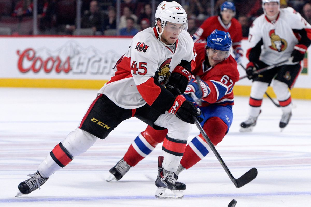 Wideman is one of just three right-handed blueliners in the Senators system