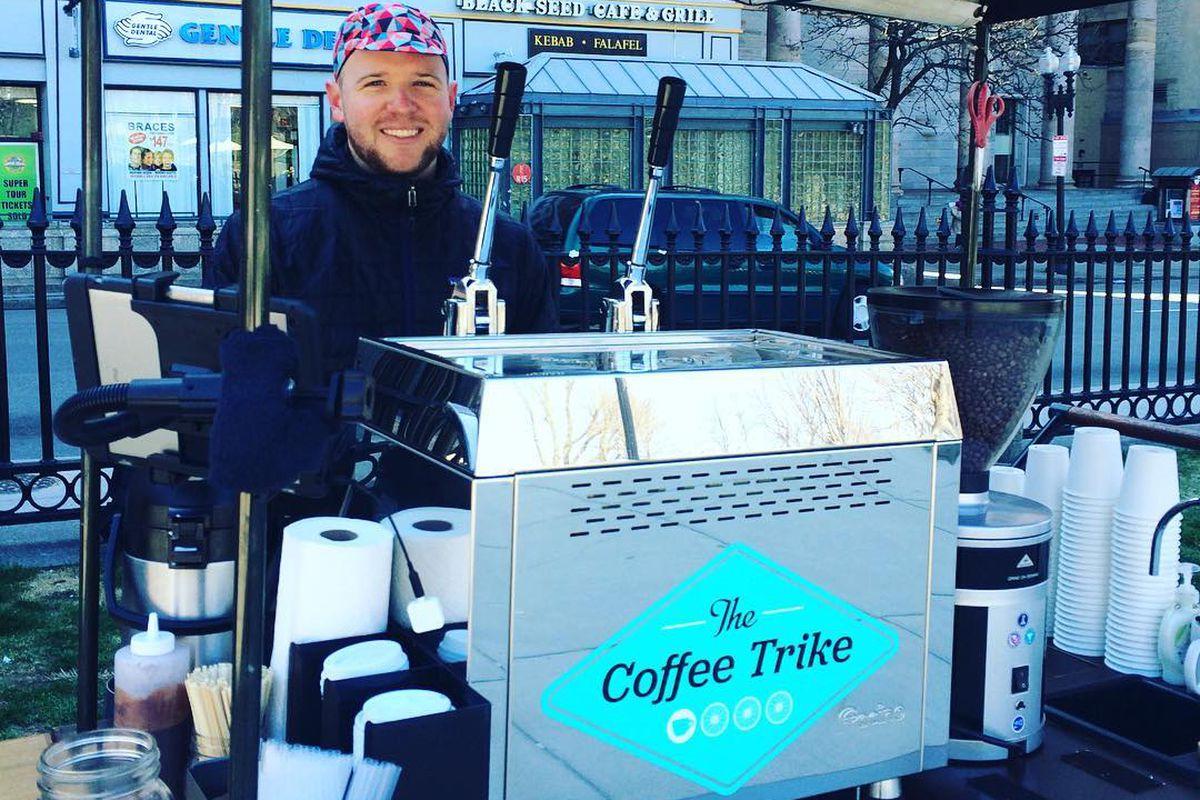 Brad Pillen at The Coffee Trike