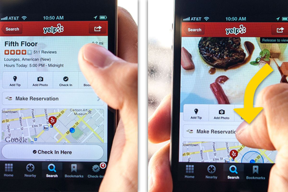 Yelp Unveils New Grubhub Style Food Delivery The Verge