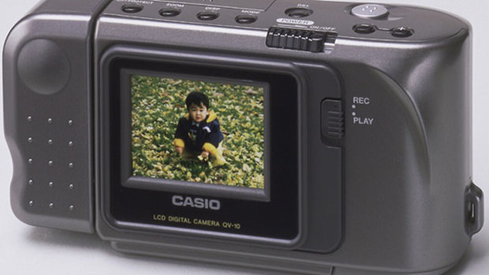 Casio QV-10, the first consume...