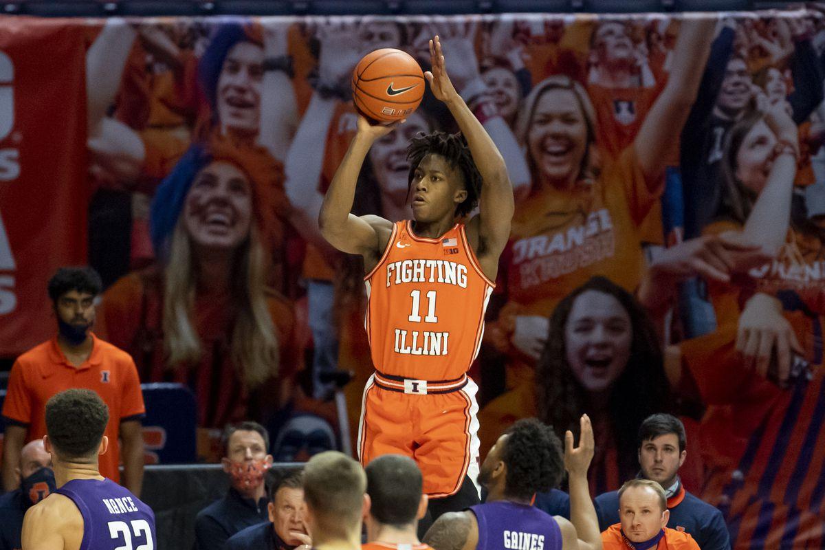 NCAA Basketball: Northwestern at Illinois